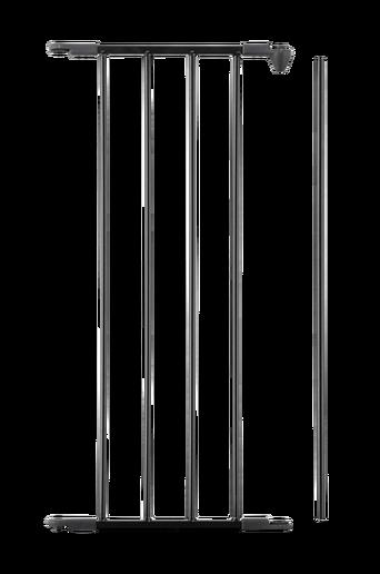 Jatkokappale Flex M -aitaan/-porttiin, musta