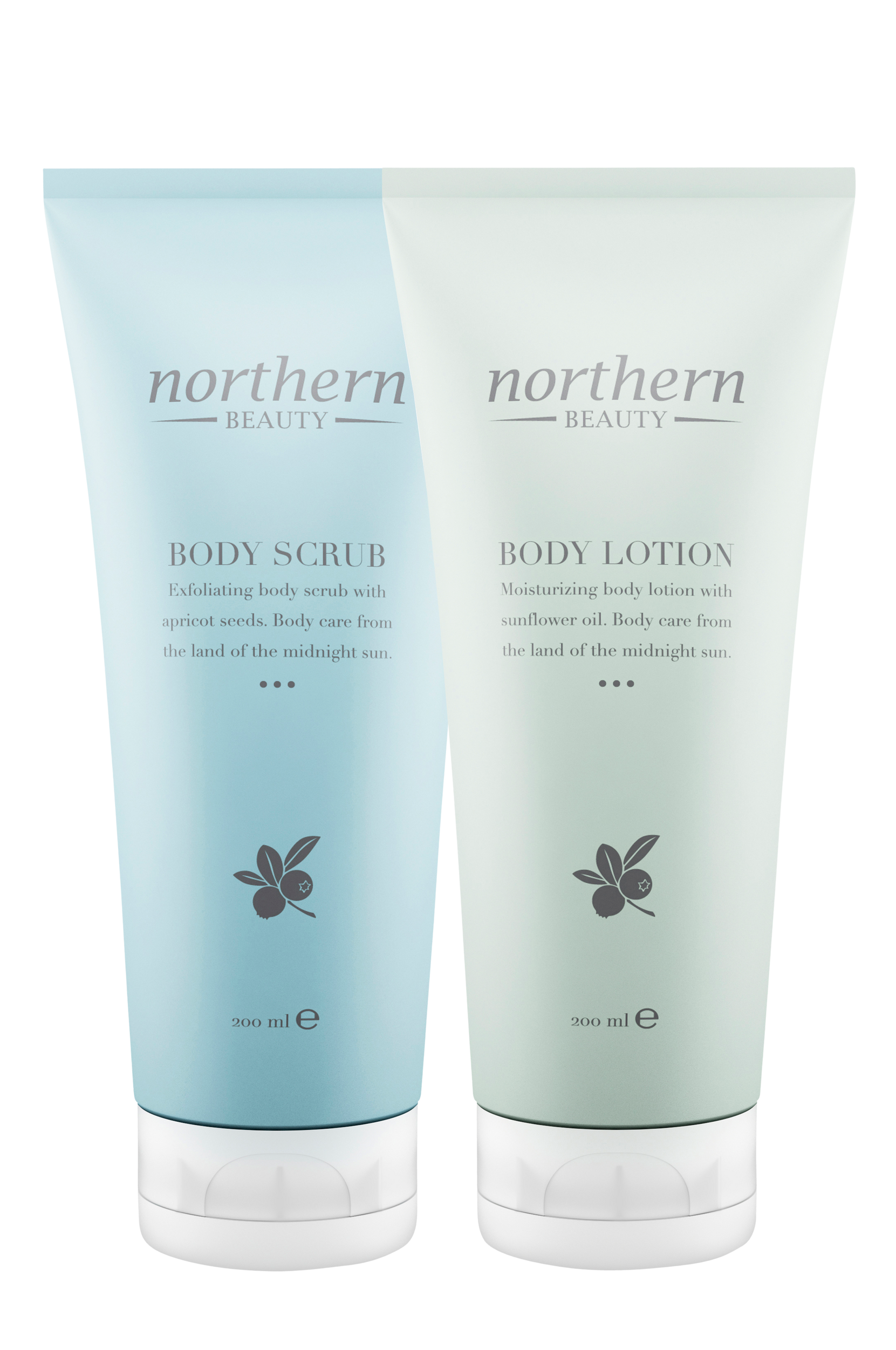 Body Lotion + Body Scrub