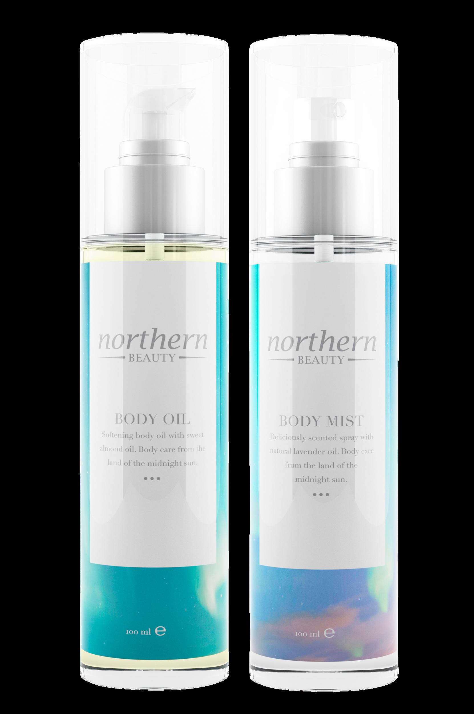 Body Mist + Body Oil