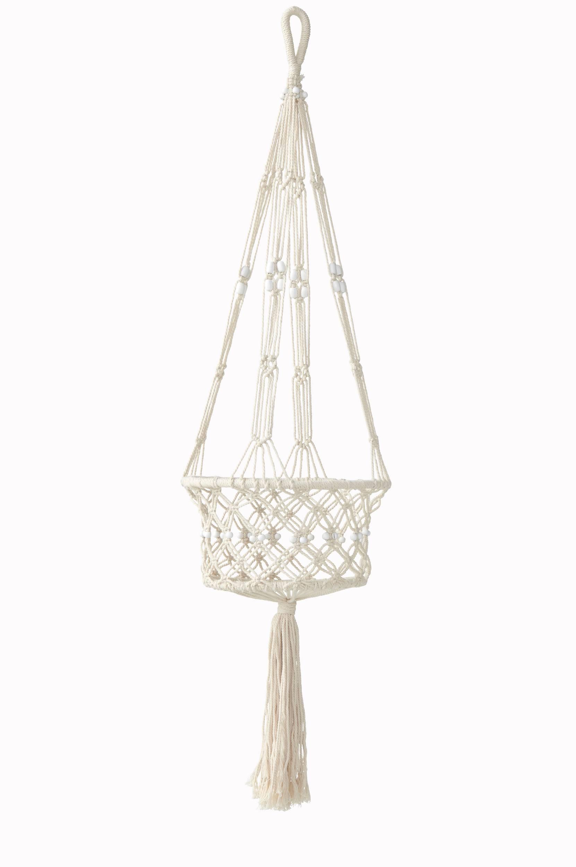 Ampel/ophæng til ampel – Saidie Ellos Potteskjulere & vaser til Boligen i Hvid