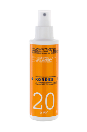 Suncare Spray Youghurt SPF 20 150 ml