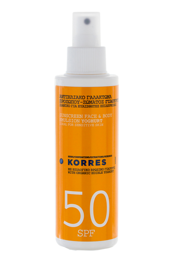 Suncare Spray Youghurt SPF 50 150 ml