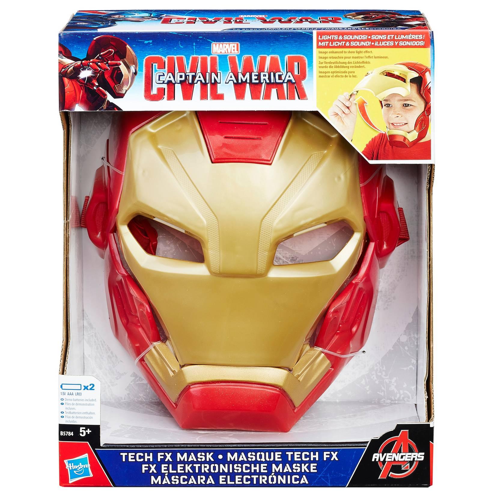 Iron Man Movie Fx Mask