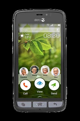 8030 4G-älypuhelin, musta