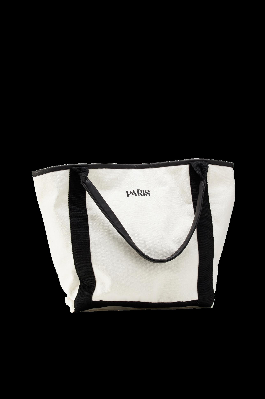 Taske af økologisk bomuld Ellos Tasker & kufferter til Kvinder i Hvid/sort