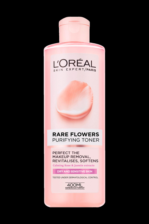 Rare Flowers Purifying Toner Dry/Sensitive L'Oréal Paris Renseprodukter til Kvinder i