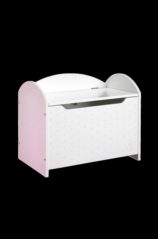Barnkammarboken-arkku, roosa