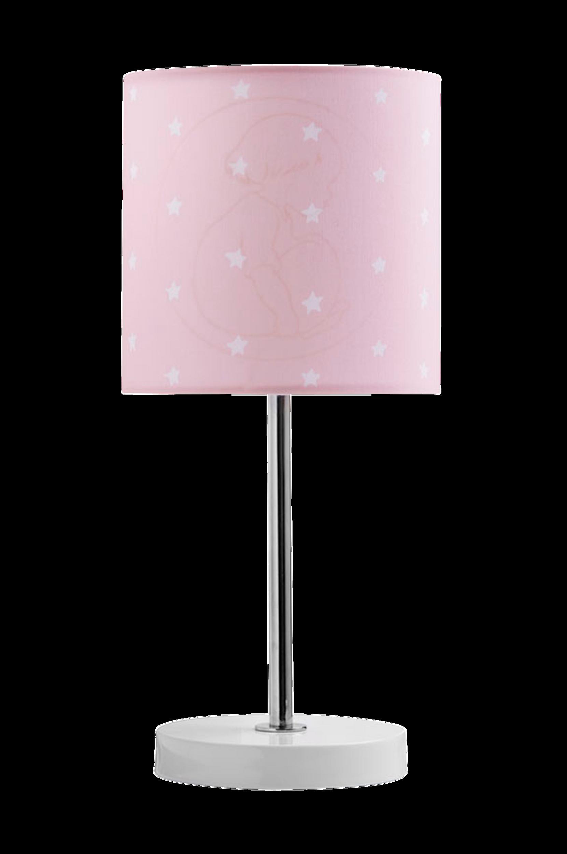 Barnkammarboken-pöytävalaisin, roosa