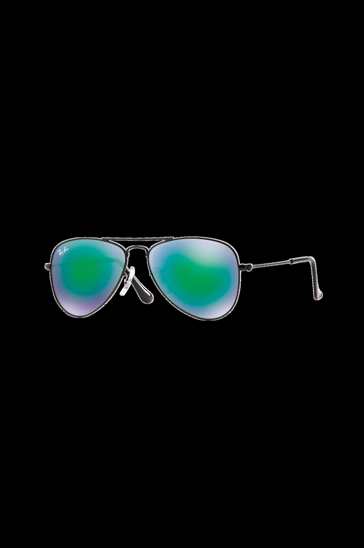 Solbriller Aviator Junior Rb9506s-201/3R Matte Black Ray Ban Solbriller til Mænd i