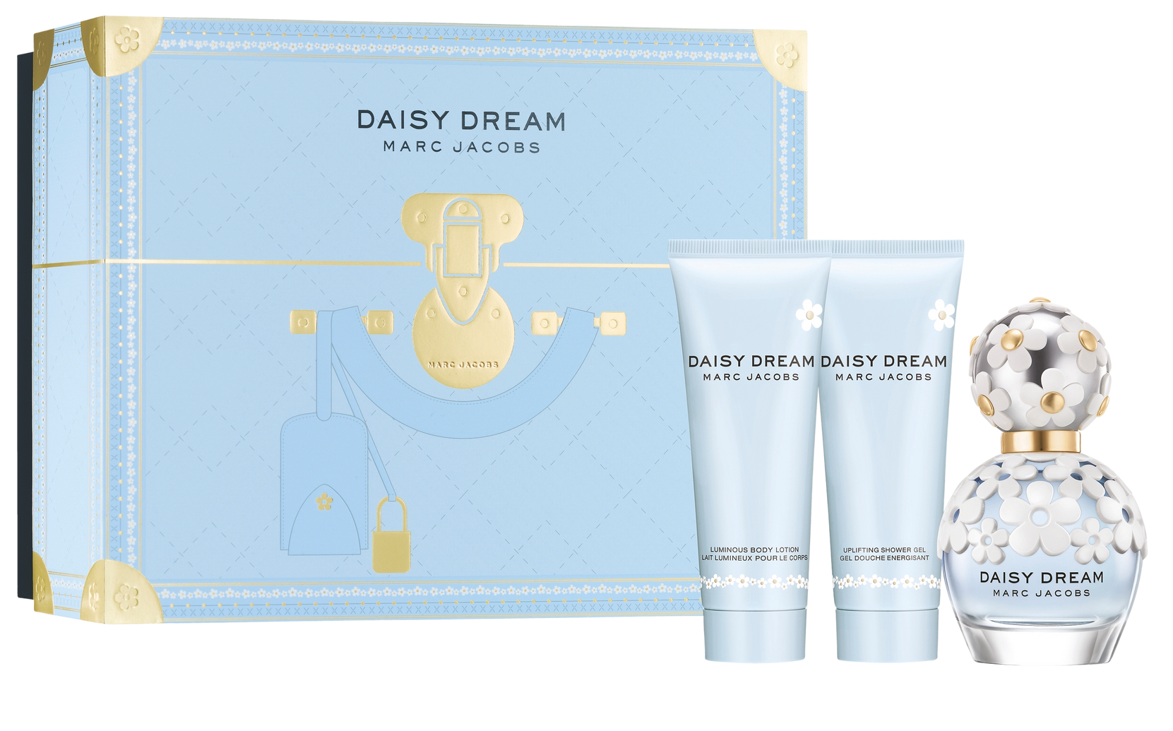 Daisy Dream -lahjapakkaus: Edt 50 ml + Bodylotion 75 ml + Shower Gel 75 ml