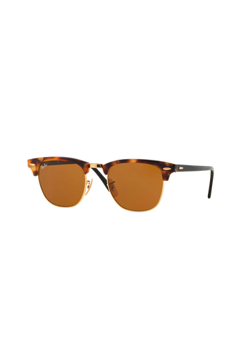 Clubmaster RB3016-1160 -aurinkolasit, Spotted Brown Havana