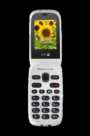 6031 matkapuhelin, punainen/valkoinen