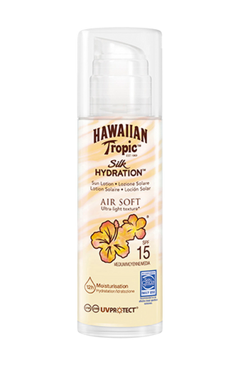 Silk Hydration Air Soft Pump Sun Lotion SPF 15 150 ml