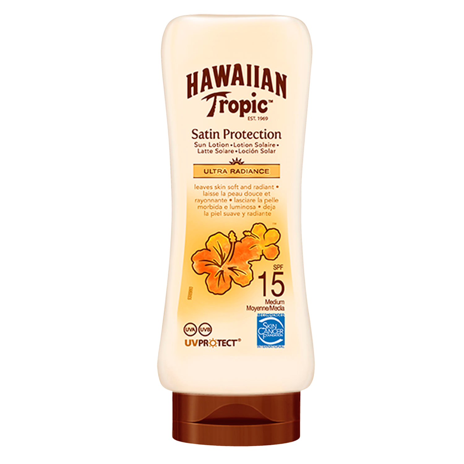 Satin Protection Sun Lotion Spf15 180 ml