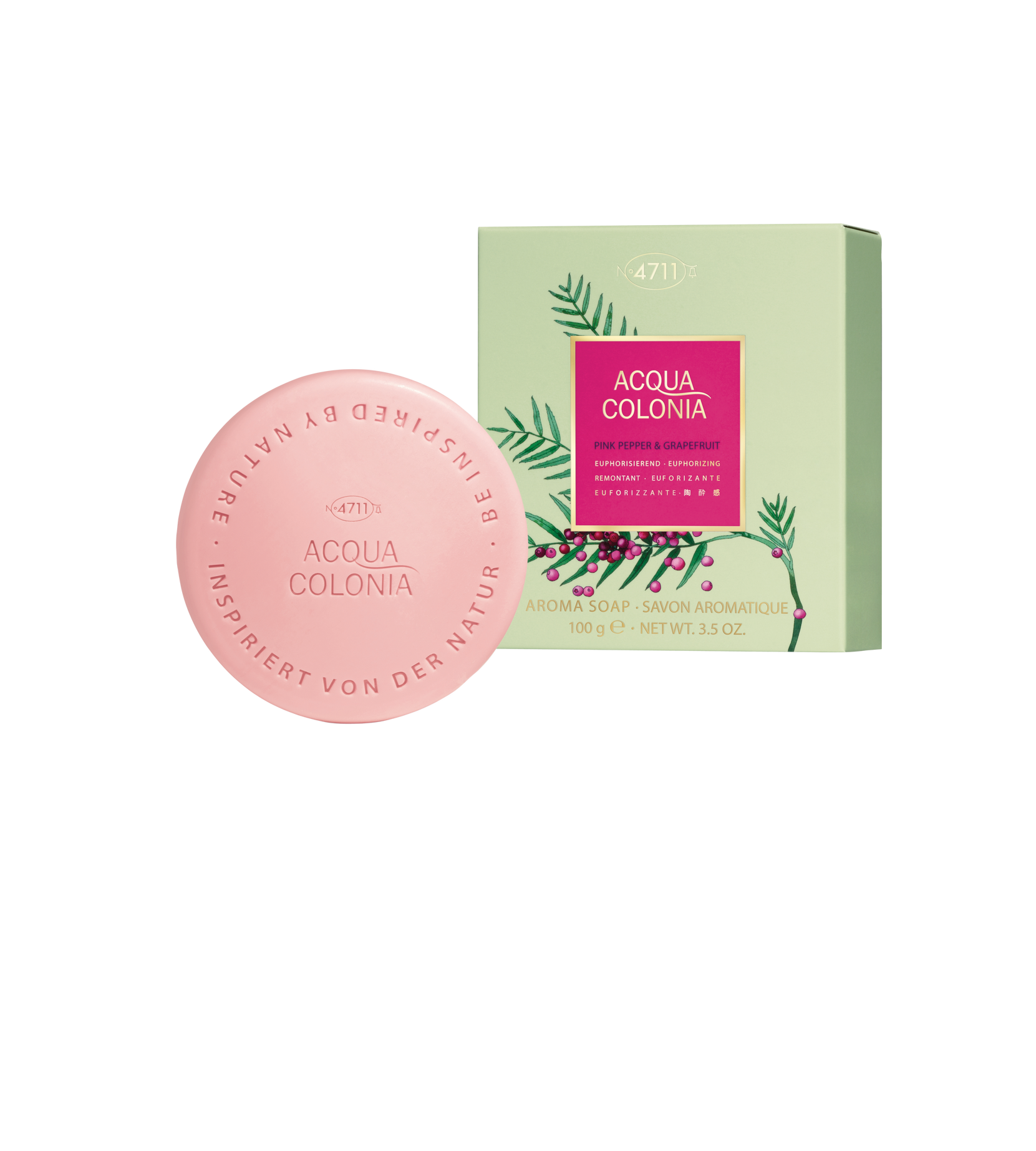 Soap Pink Pepper & Grapefruit 100 g