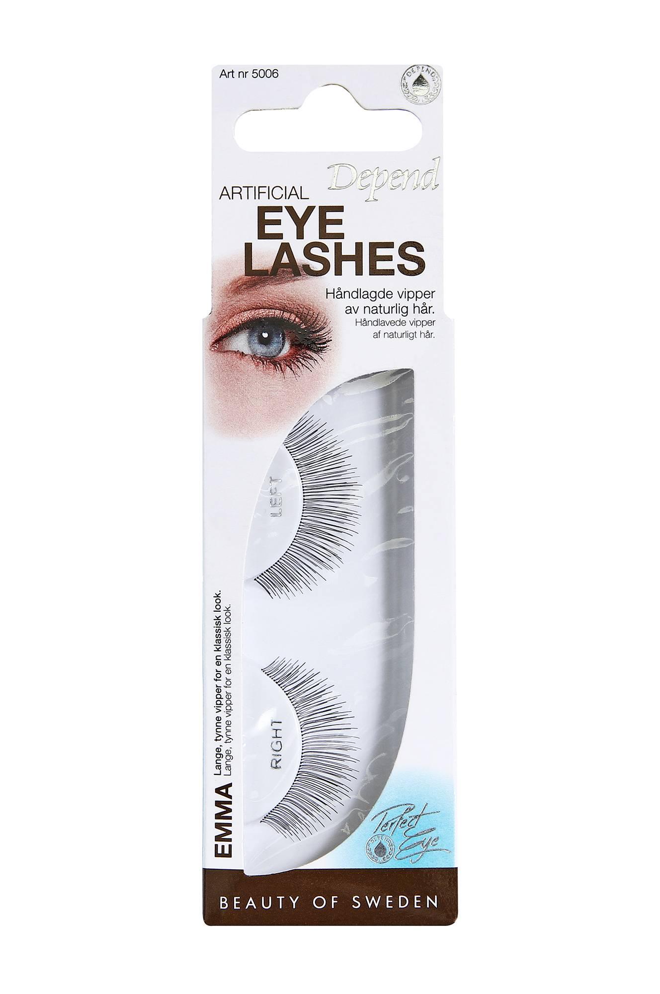 Artificial Eyelashes Emma Depend Øjne til Kvinder i