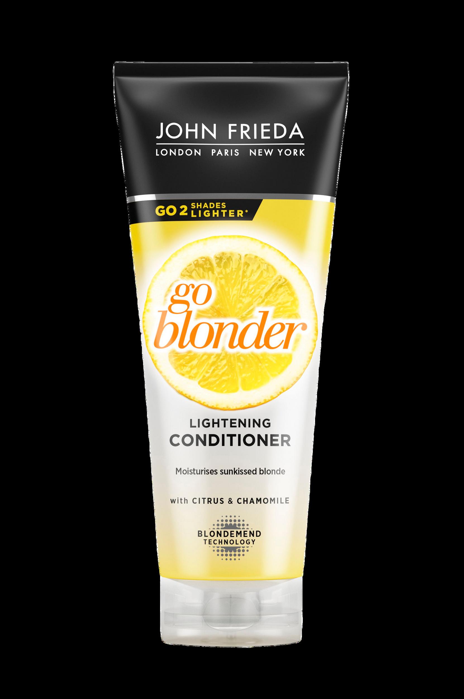 Sheer Blonde Go Blonder Conditioner 250 ml John Frieda Balsam til Kvinder i