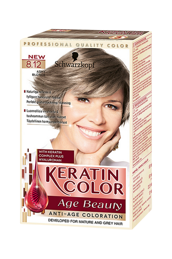 Anti-Age Keratin 8.12 Ashy Blonde