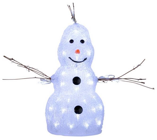 Utomhus dekoration Snowman