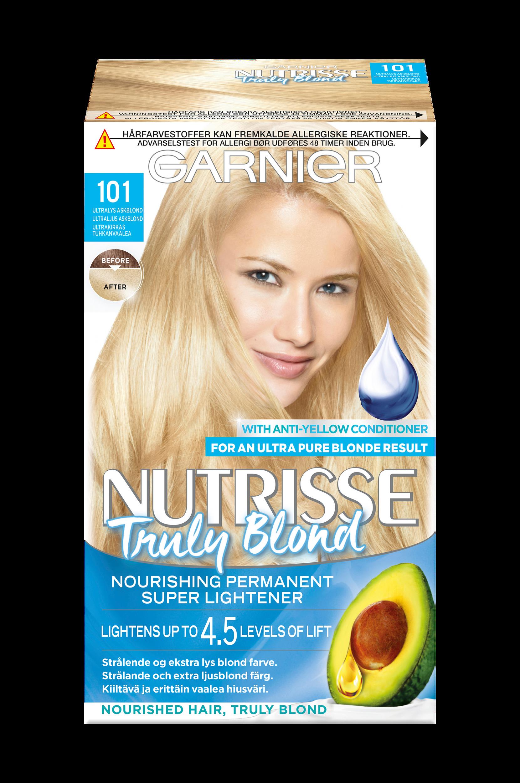 Nutrisse Truly Blond Ultra Light Ash Blonde 101