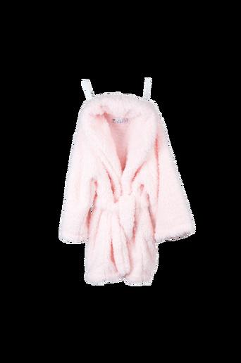 Chenille-aamutakki, roosa 0 2-vuotiaille