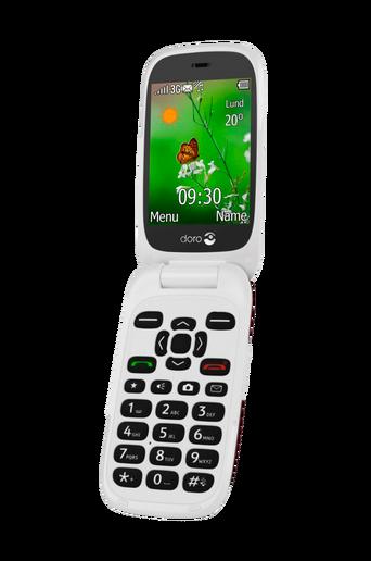 6531 3G-puhelin, punainen/valkoinen