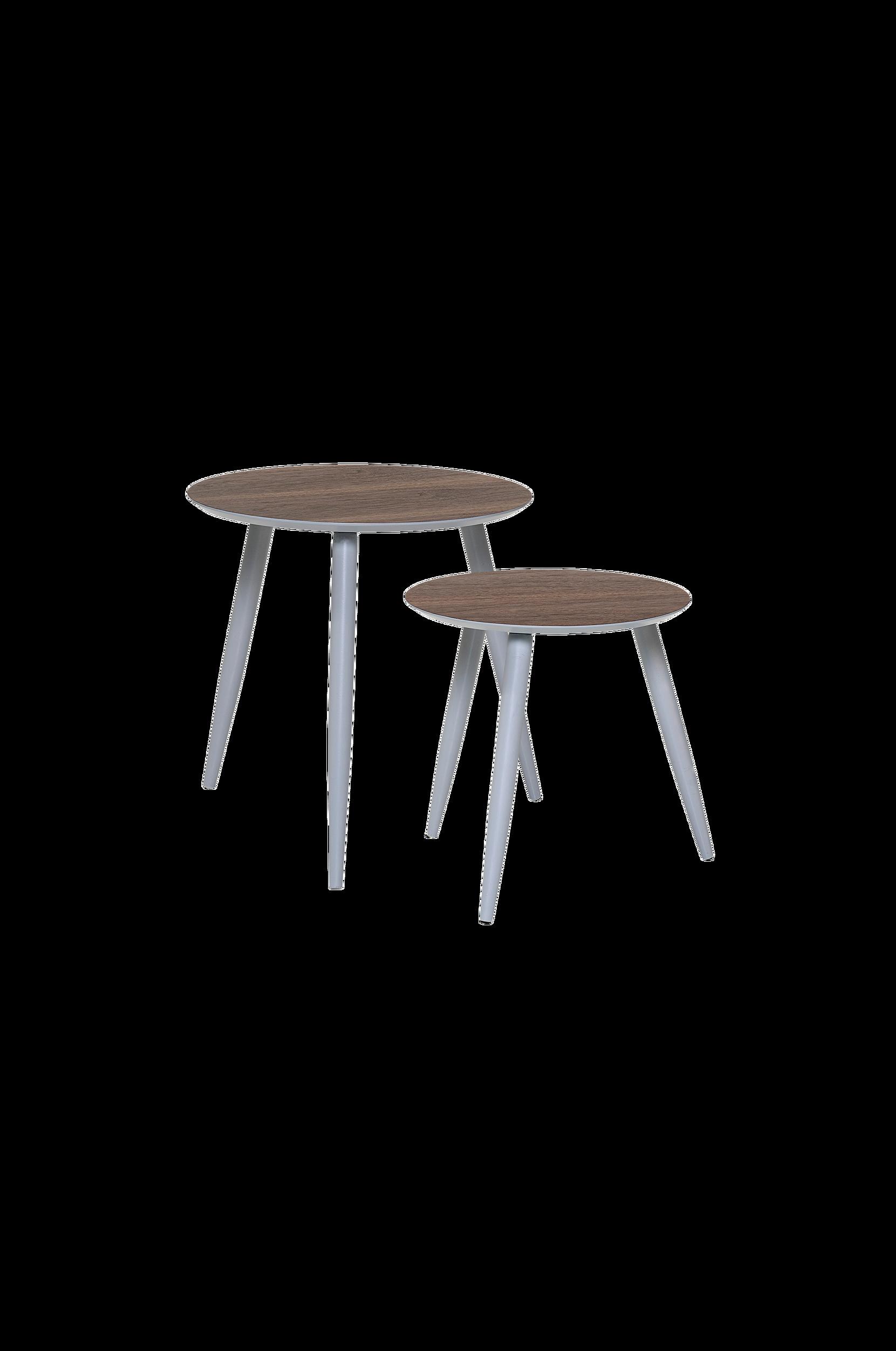 Asta-pöydät, 2/pakk. halkaisija 40/48 cm