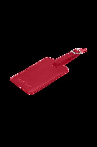 Bagagetag, punainen