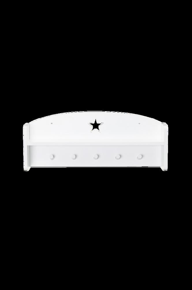 Vägghylla Star Vit