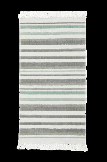 Edvin-matto, raidallinen/vihreä 70 x 130 cm
