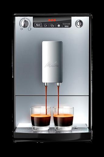 Caffeo Solo, musta/hopea