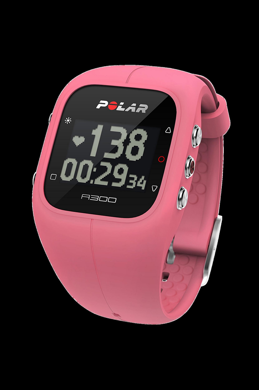 Fitness- ja aktiivisuusmittari A300, roosa