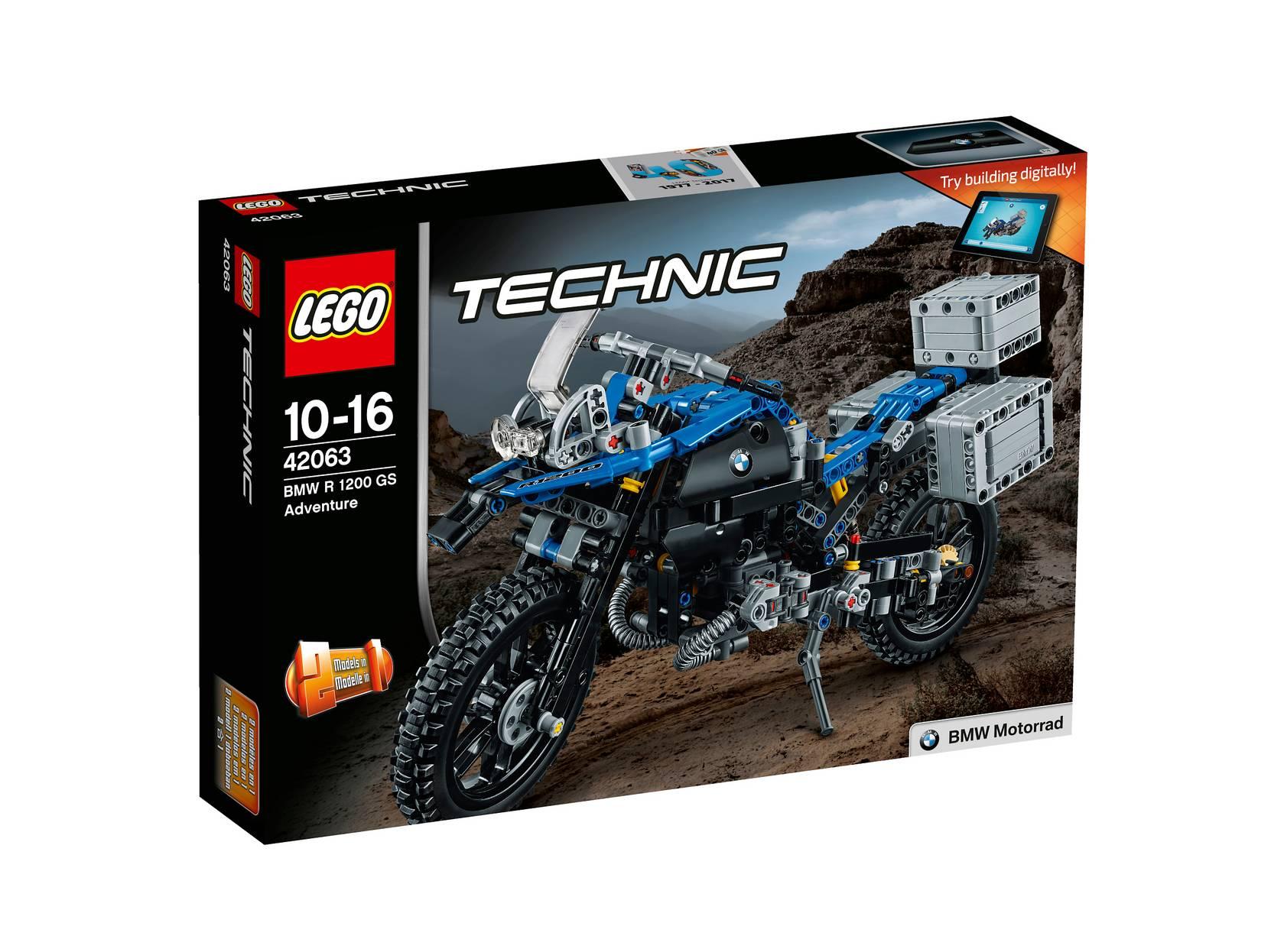 BMW R 1200 GS Adventure 42063 LEGO Lego til Børn i 42063