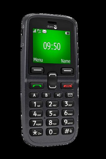5031-matkapuhelin, musta