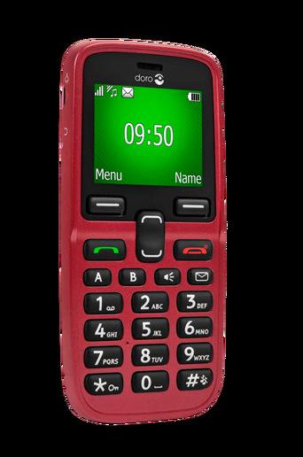 5031-matkapuhelin, punainen
