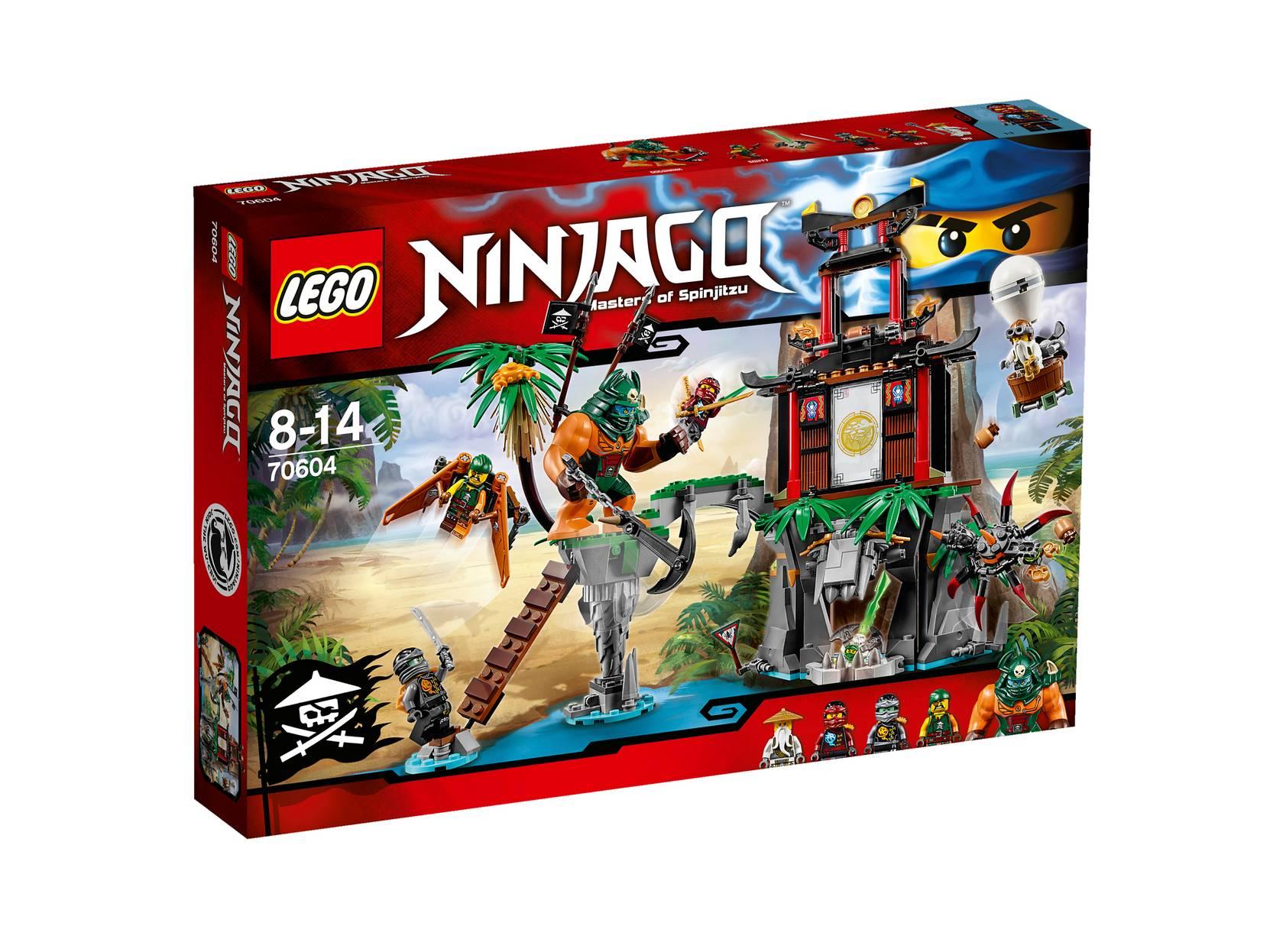 Tigerenkens ø 70604 LEGO Lego til Børn i 70604
