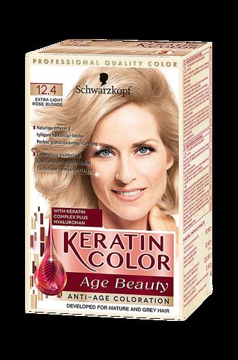 Anti-Age Keratin 12.4 Extra Light Rosé Blonde
