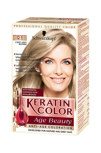 Anti-Age Keratin 9.1 Light Ashy Blonde