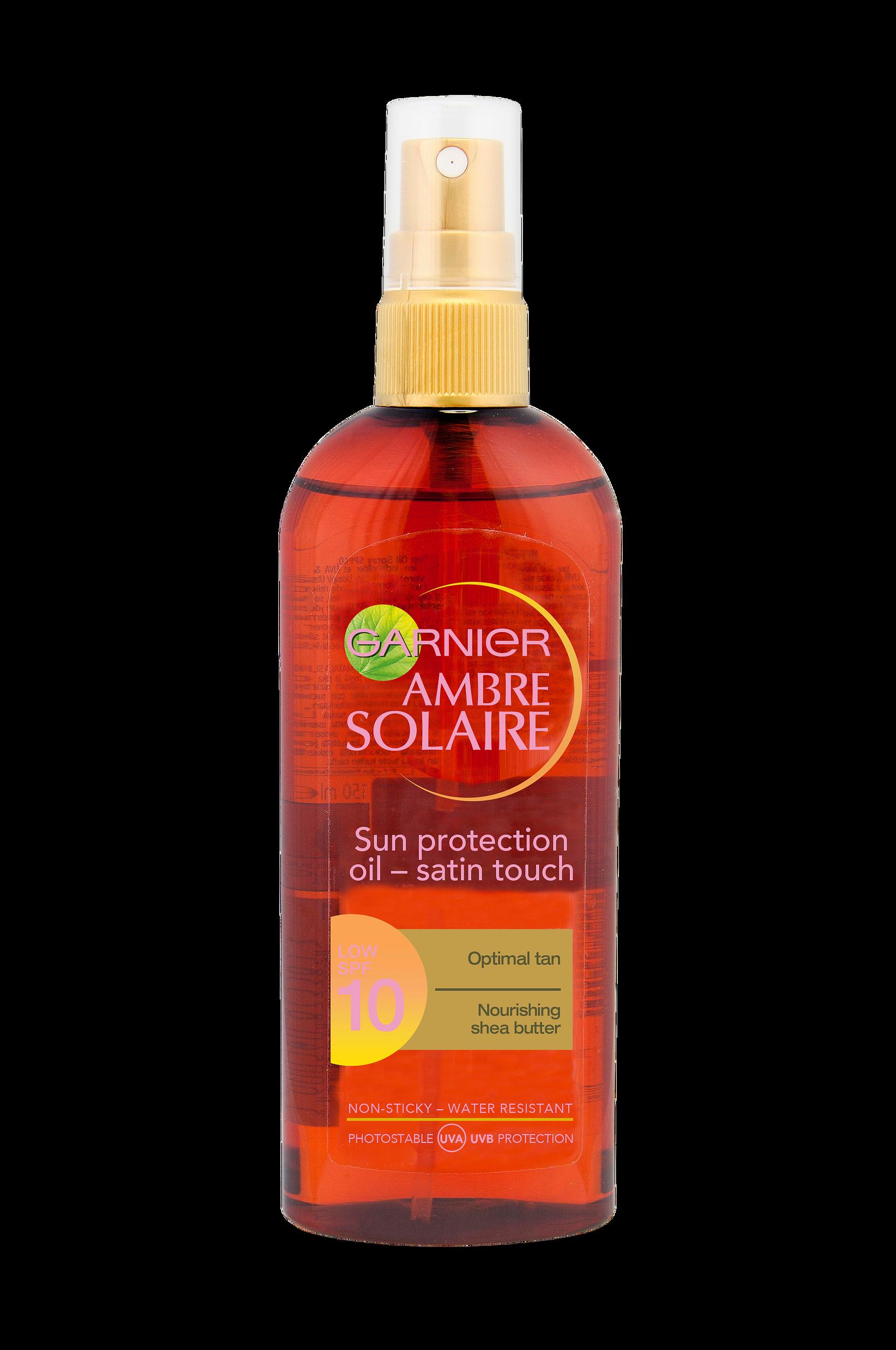 Ambre Solaire Oil Spray SPF 10 Garnier Solprodukter til Kvinder i