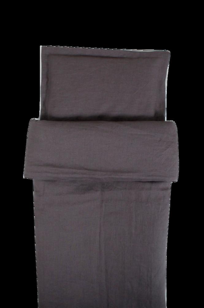 Påslakan Spjälsäng Graphite Grey 100 x 130 cm