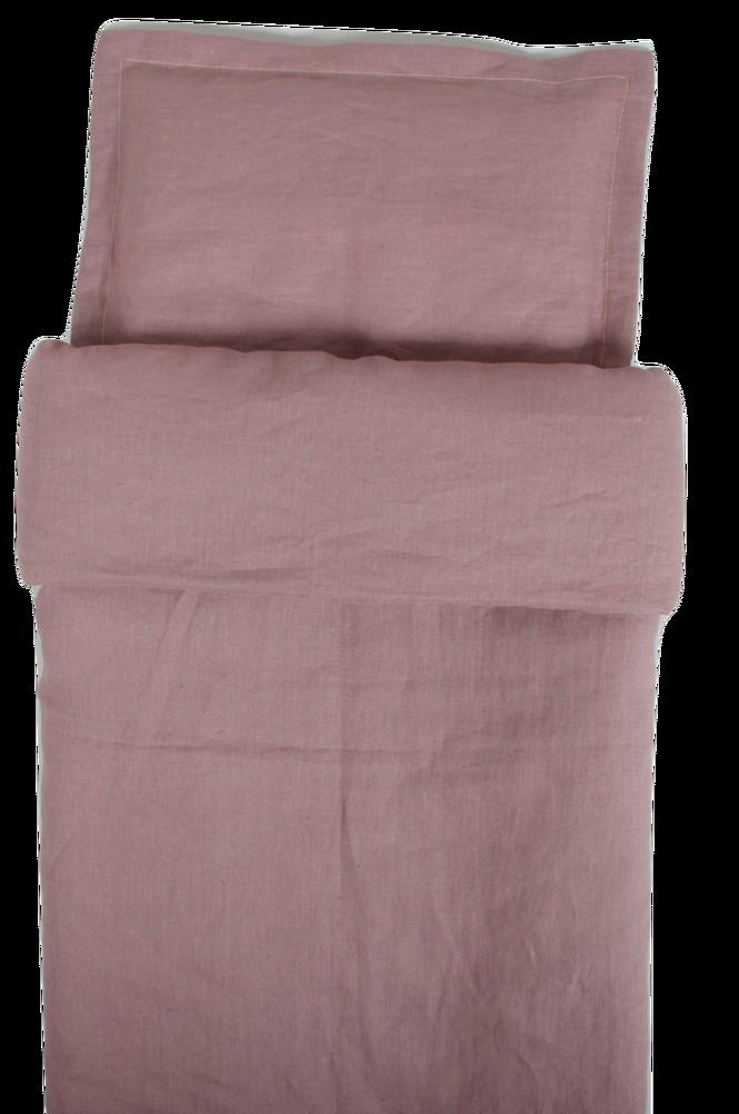 Påslakan Spjälsäng Dusty Pink 100 x 130 cm