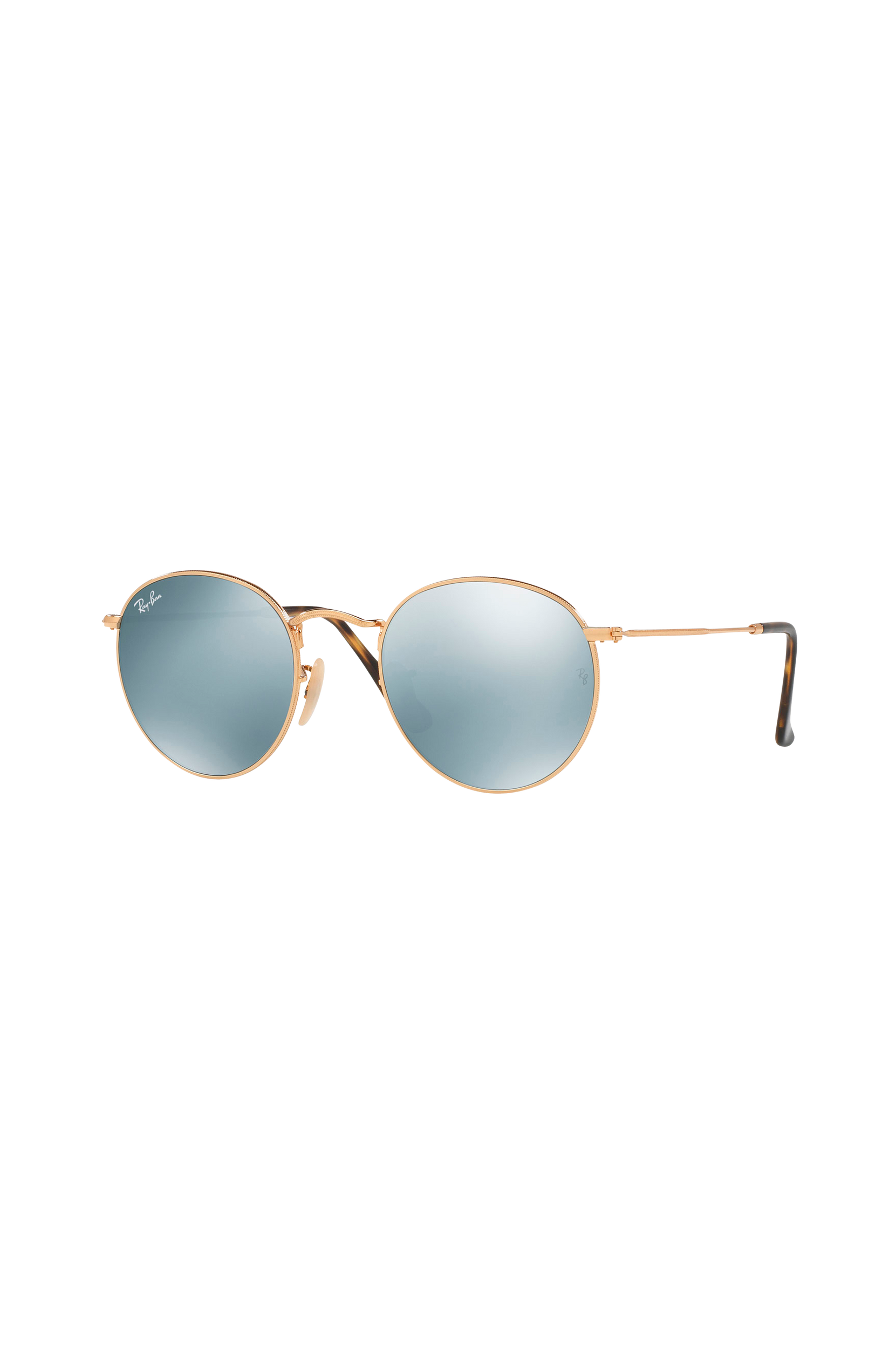 Round Metal Rb3447n Shiny Gold Ray Ban Accessories til Kvinder i