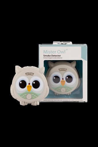Mr Owl -palovaroitin, vaaleanharmaa