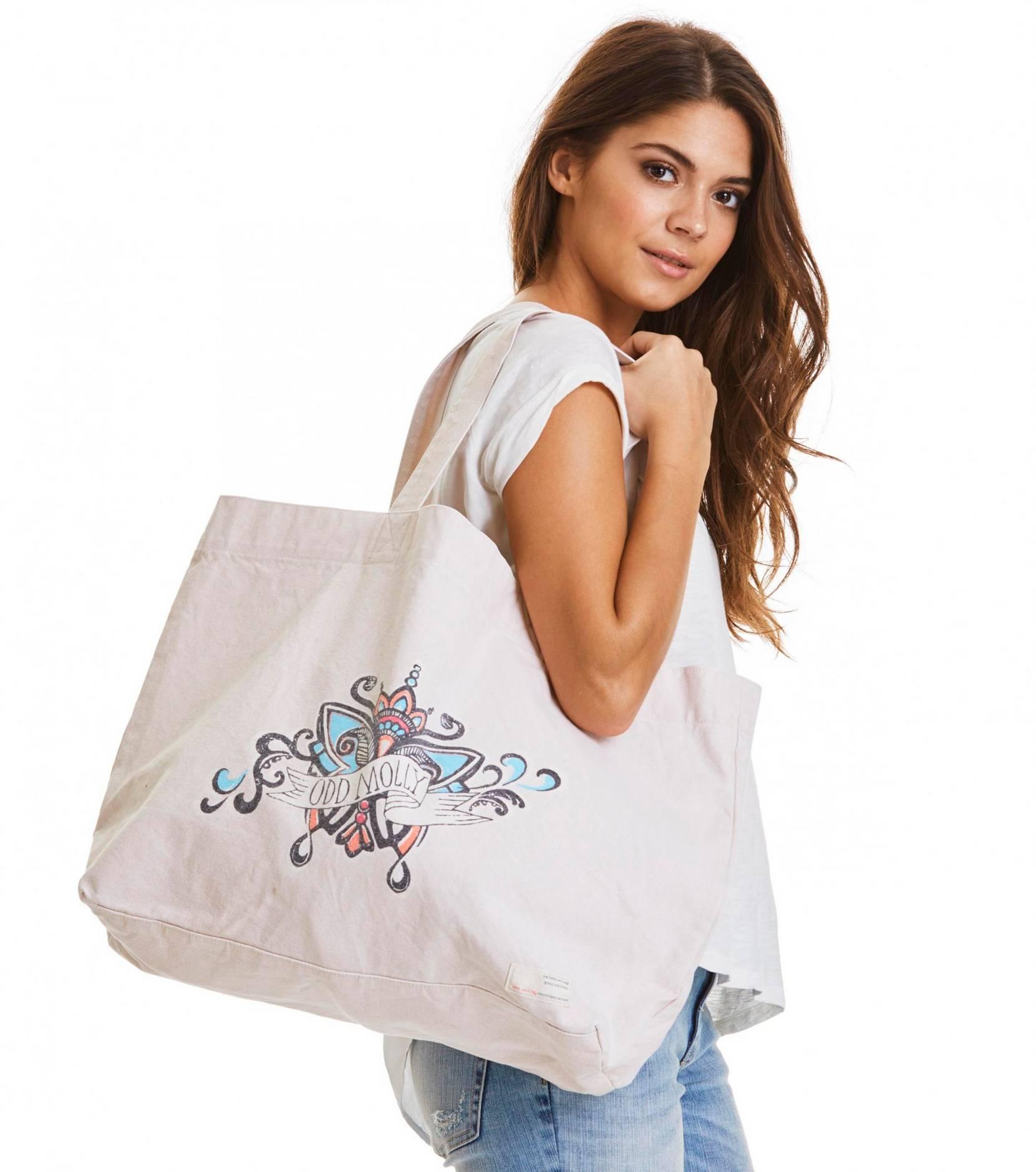 Taske Caring Bag Odd Molly Tasker & kufferter til Kvinder i
