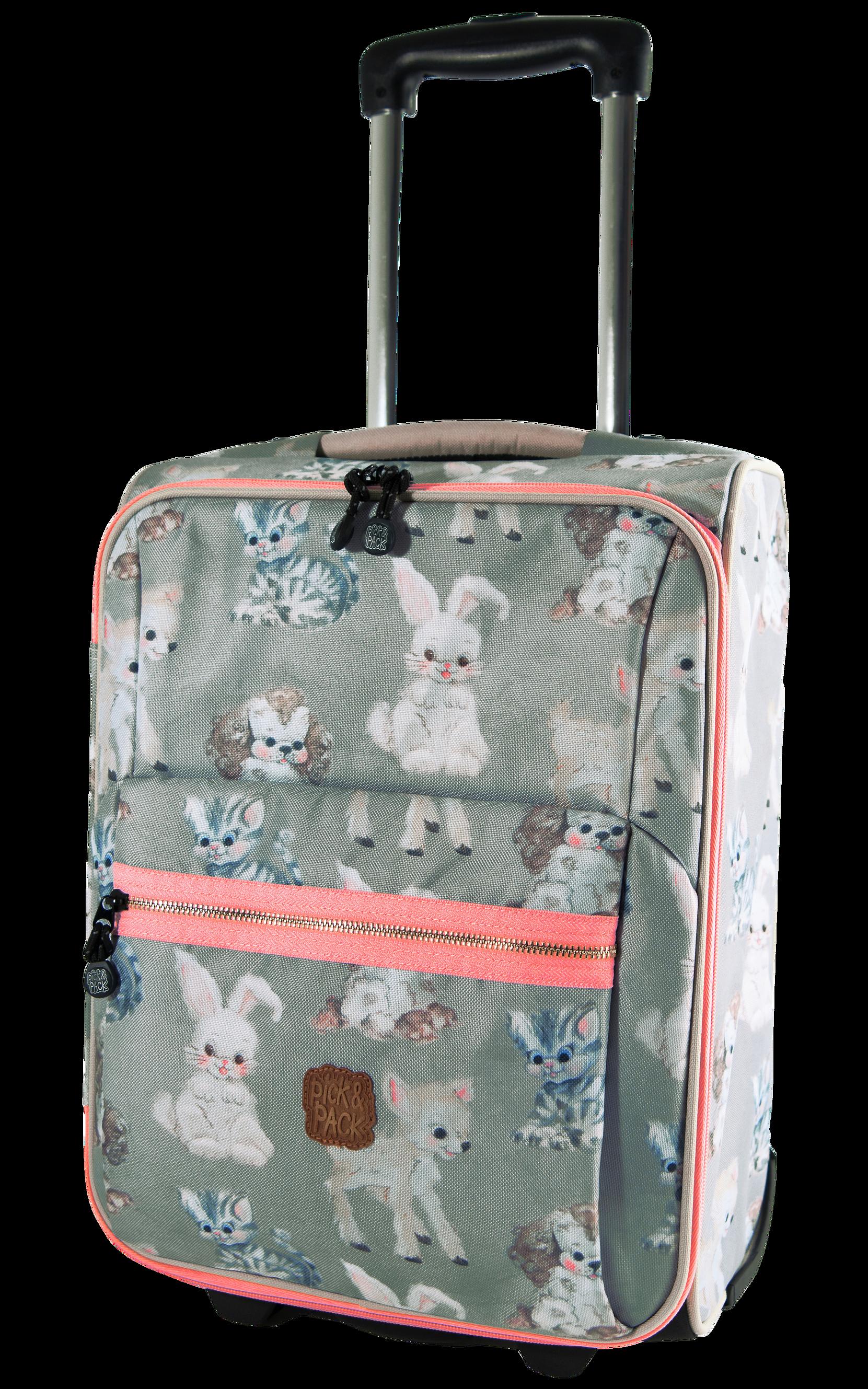 Trolley Cute Animals Pick & Pack Accessories til Børn i Multi