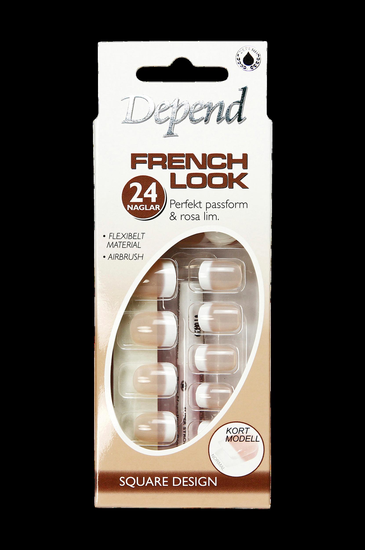 Dc French, lyhyt beige 2