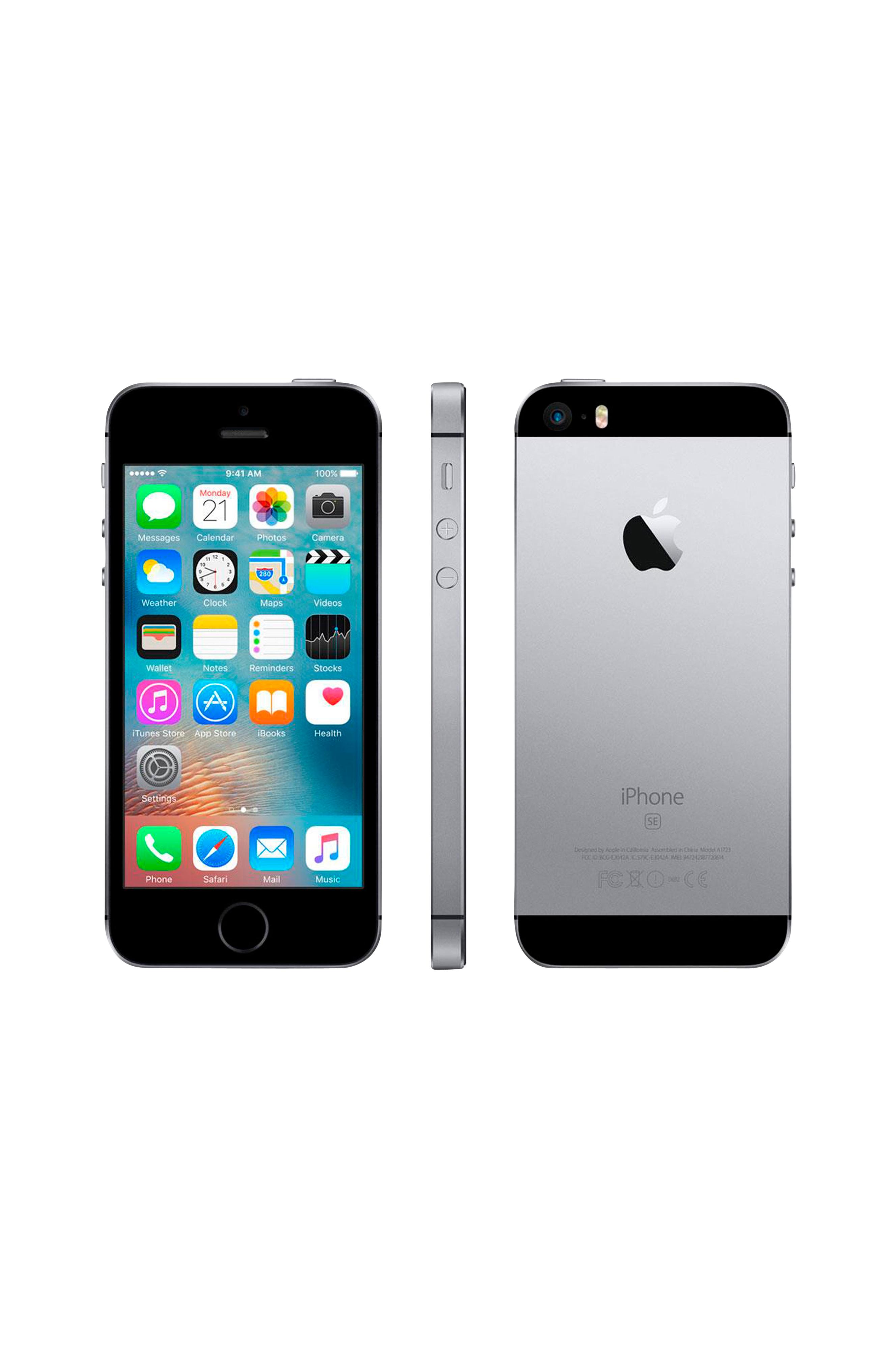 apple iphone se 64 gt space grey elektroniikka. Black Bedroom Furniture Sets. Home Design Ideas