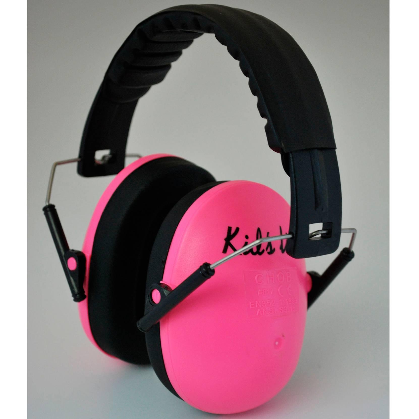 Lasten kuulosuojaimet, roosa
