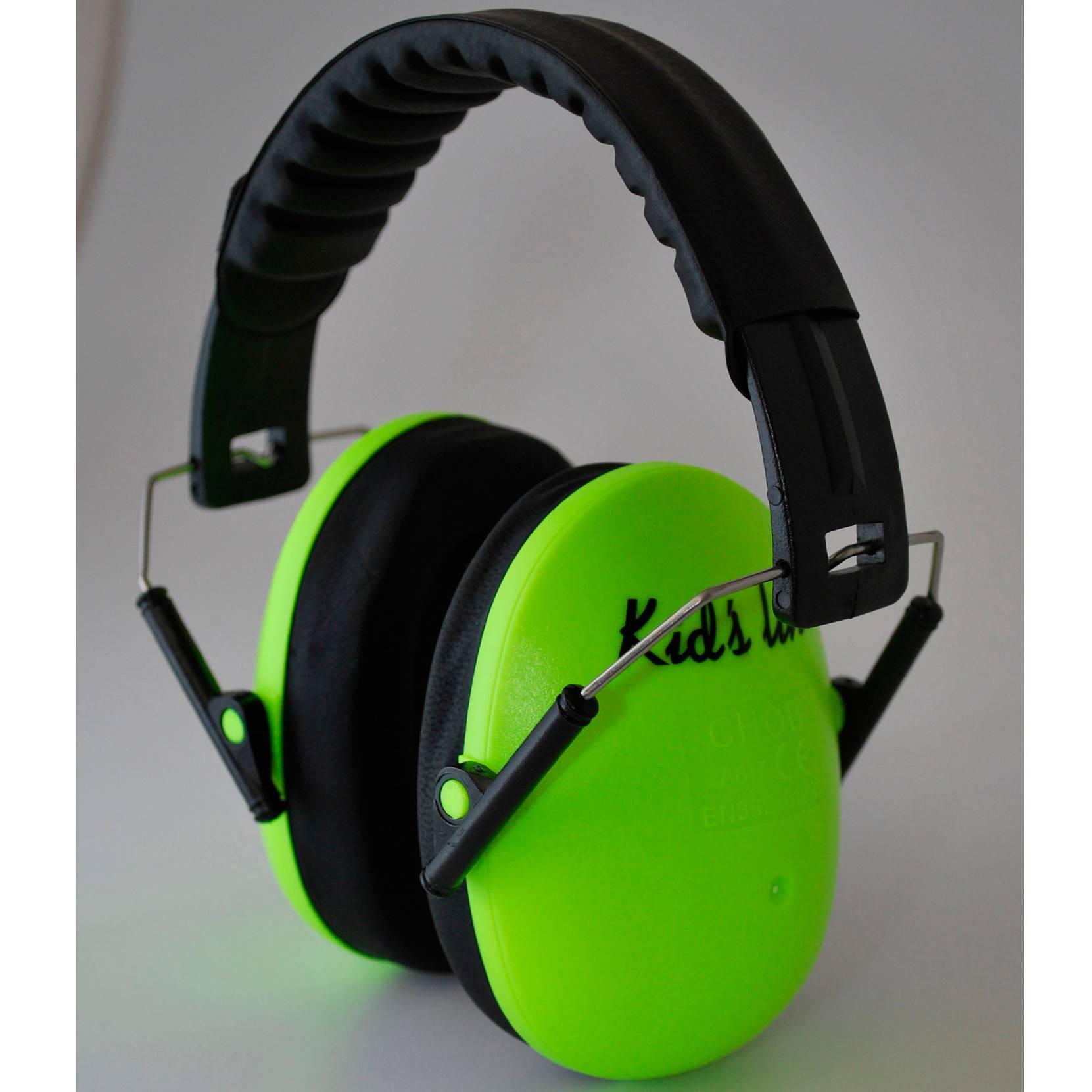 Lasten kuulosuojaimet, vihreä