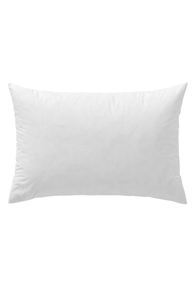 Innerkudde med fjäderfyllning 60×40 cm